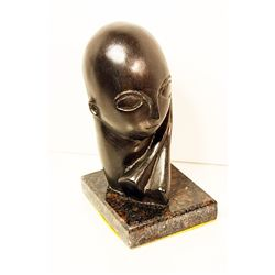 Brancusi Limited Edition Bronze -WOMAN HEAD