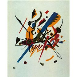 From Small Worlds Type A - Kandinsky - Limited Edition on Canvas