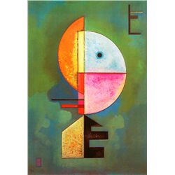 Upward - Kandinsky - Limited Edition on Canvas
