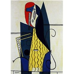 Limited Edition Picasso - Wolman In An Armchair - Collection Domaine Picasso