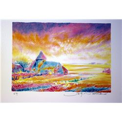 Tonnard Hand Signed - Paysage III