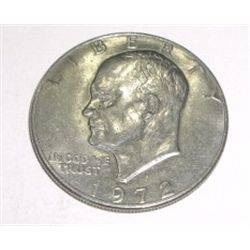 1972-D Eisenhower  IKE  Dollar *PLEASE LOOK AT PICTURE TO DETERMINE GRADE*!!