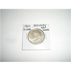 1964 SILVER Kennedy Half Dollar *PLEASE LOOK AT PICTURE TO DETERMINE GRADE*!!