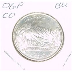 2006-P Washington STATE Quarter *COLORADO BU-BRILLIANT UNC HIGH GRADE* NICE COIN!!