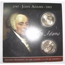 JOHN ADAMS Presidential $1 Set in Original Package - Nice Set!!
