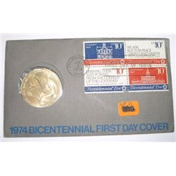 1974 BICENTENNIAL *FIRST DAY COVER* Set in Original Package - Nice Set!!