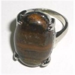 Large *TIGER EYE* Ring - Nice Ring!!