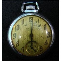 BRISTOL TRADEMARK POCKET WATCH