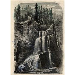 CRYSTAL FALLS from a collection of rare prints