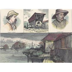 ~Bits from Saint Malo - A Louisiana Village~ MATTED PRI