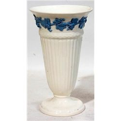 WHITE WEDGWOOD QUEENSWARE PORCELAIN VASE