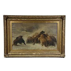 Oil on Canvas -Lost: Souvenir of Auvergne