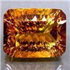 Image 1 : HUGE 65.35ct. UNHEATED Millennium Cut IMPERIAL TOPAZ MW