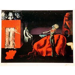 Salvador Dali Signed Limited Edition -SINGULARITIES