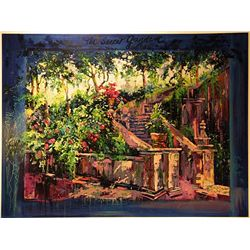 JT Jado Serigraph  The Secret Garden 