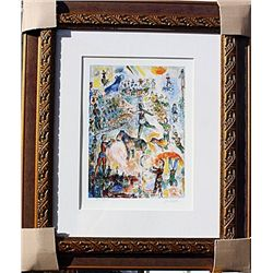 At the Circus  - Chagall - Limited Edition
