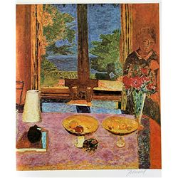 Original Signed Lithograph Pierre Bonnard