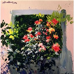 LLado FLORAL II Hand Signed Limited Ed. Serigraph