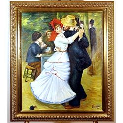 Dance At Bougival  - Chagall- Inspired