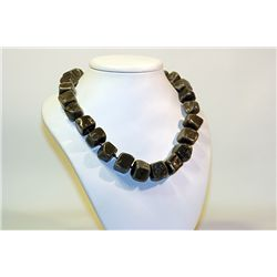 Unisex Fancy  All Natural Stones  Australian Jade Necklace