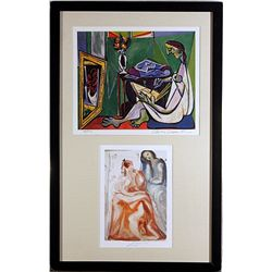 Pablo Picasso and Salvador Dali-Lithographs Set
