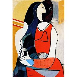Limited Edition Picasso - Seated Woman II - Collection Domaine Picasso