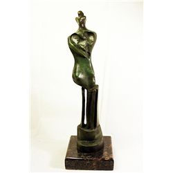 Henry Moore  Original, limited Edition  Bronze -Standing Woman