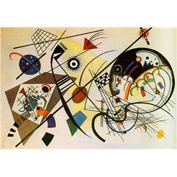 Unbroken - Kandinsky - Limited Edition on Canvas