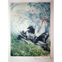 Original Louis Icart Lithographs from Le Faust suite - Sweet Dreams