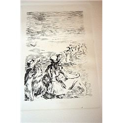Renoir Posthumous Etching - Chapeau Epingle