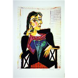 Picasso Limited Edition - Dora Maar Seated - from Collection Domaine Picasso