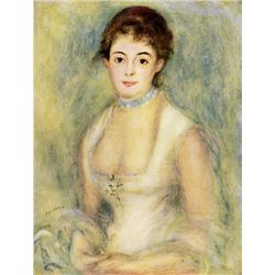 Madame Henriot - Renoir - Limited Edition on Canvas
