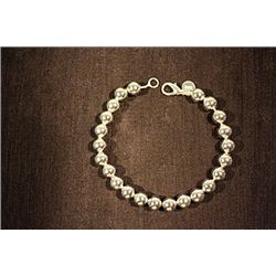 Lady's Fancy Tiffany Sterling Silver Bracelet