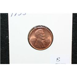 1955 Wheat Back Penny