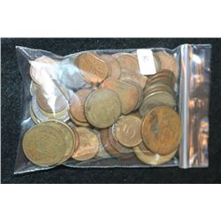 Foreign Coin & Tokens; Various Dates, Conditions & Denominations, Lot of 65