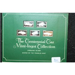 The Centennial Car Mini-Ingot Collection; Franklin, Lorraine-Dietrich, Amilcar, Ford & Mercedes Benz