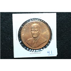 Lyndon B. Johnson Presidential Inaugural Medal