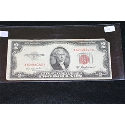 1953-A United States Note $2, Red Seal