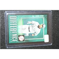 2003 MLB The Upper Deck Derek Jeter-New York Yankees Difference Makers Baseball Trading Card
