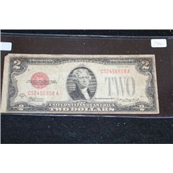 1928-D United States Note $2, Red Seal