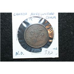 Montreal Canada Agriculture Commission Token