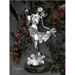 Modern Eve - Limited Edition Real Silver Sculpture by Sergey