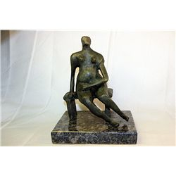 Henry Moore  Original, limited Edition  Bronze- Seated Woman