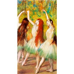 Danseuses Vertes - Edgar Degas - Limited Edition on Canvas