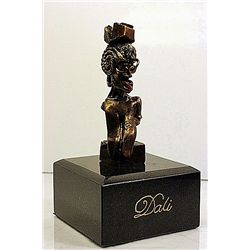 Dali Limited Edition Bronze  Sculpture - Portrait Of Picasso