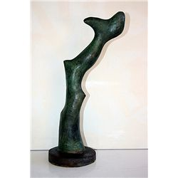 Jean Arp  Original, limited Edition  Bronze - Fleur de Reve au Museau