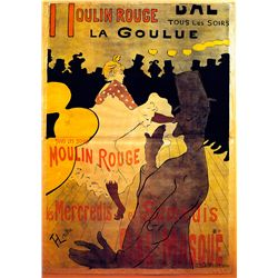 Moulin Rouge - Lautrec - Limited Edition on Canvas
