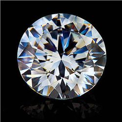 Diamond EGL Certified Round 0.76 ctw D,SI2