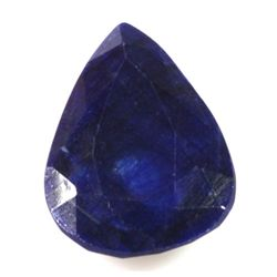 Natural African Sapphire Loose 62.65ctw Pear Cut