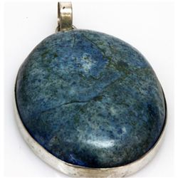 Natural 182.81 ctw Semi Precious .925 Sterling Pendant